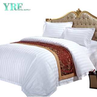 Hot Koop Luxe Polyester Cottage Hotel Grade beddengoed voor Dorm Room